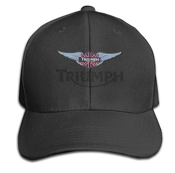 8e002a1b1 Unisex Adult Triumph Logo Solid Caps/Snapback Hats/Baseball Caps/Caps/Hats  Unisexe Men Women Cap Baseball Cap Sports Cap Outdoors Cap Hip-hop Cap Mesh  ...