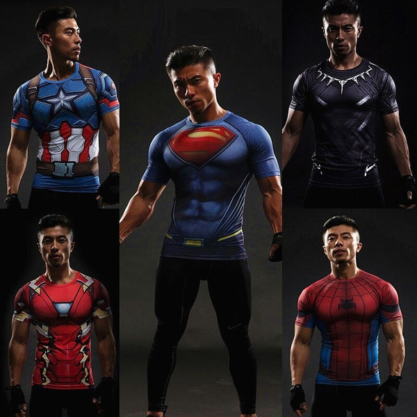 ee14bb46 Avengers Cosplay Costume 3D Printed T-shirts Men Short Sleeve ...
