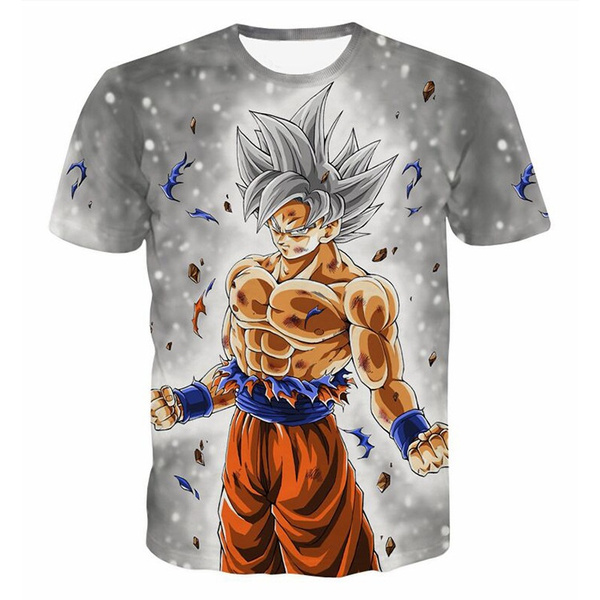 Super Saiyan Mens T-Shirt DRAGONBALL GOKU Saiyan Super