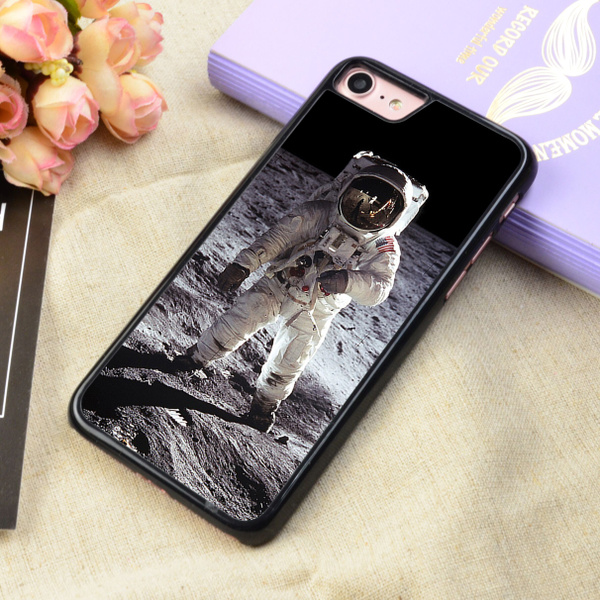 Buzz Aldrin On The Moon NASA iphone case