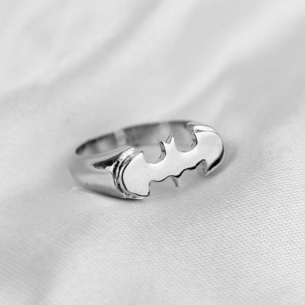 Steel, Fashion, Jewelry, Batman