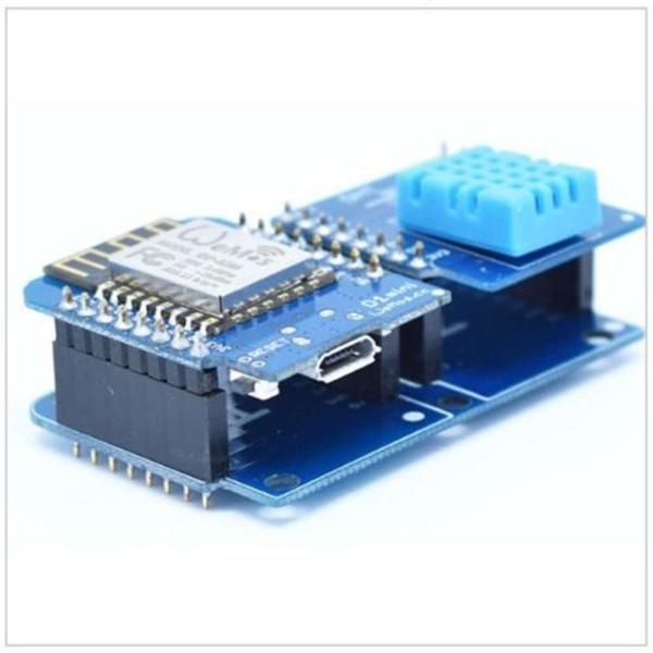 Dual Base Shield For Wemos D1 Mini IOT Blynk ESP8266 Arduino Node Mcu New