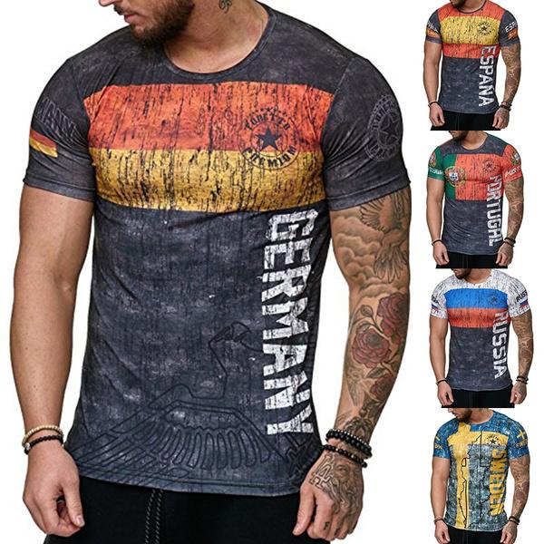 Mens T Shirt, Fashion, Slim Fit, Shirt