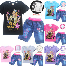 Shorts, Cotton, Sleeve, for girls