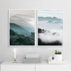 art print, Mountain, Wall Art, Home