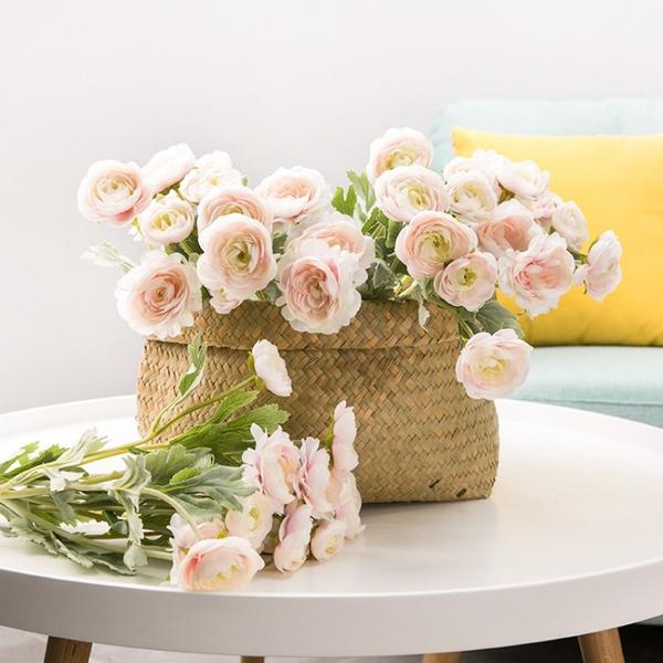 Wish Artificial Flowers Trident Little Dew Lotus Flowers Wedding