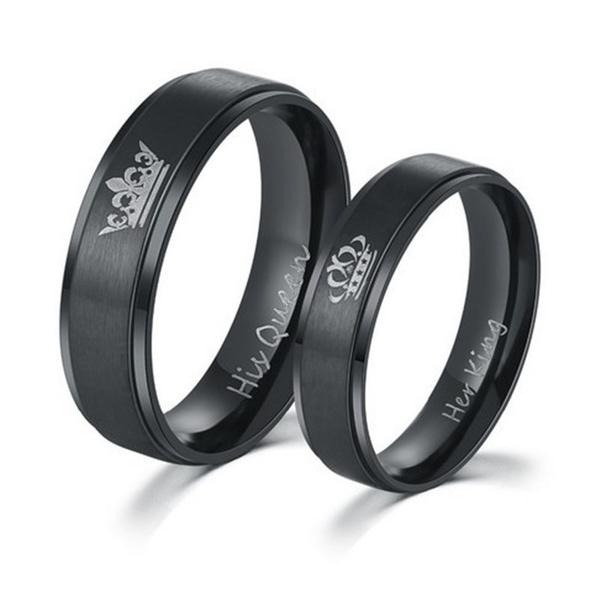 Couple Rings, Steel, Stainless, herking
