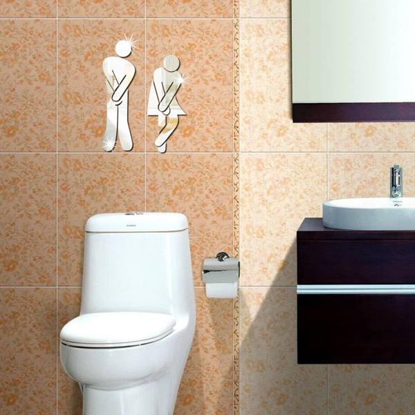 Bathroom, toiletdoorwallart, bathroomdecor, doorsigndecoration