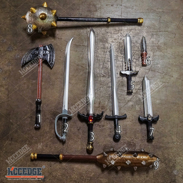 USA SELLER MEDIEVAL FOAM SWORD WEAPON HALLOWEEN COSTUME COSPLAY PARTY LARP  TOY