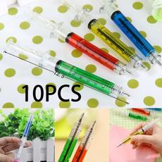 ballpoint pen, cute, syringepen, Office