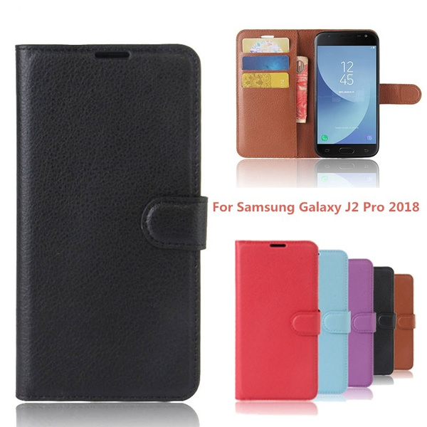 check out c9016 9b0b7 For Samsung Galaxy J2 Pro 2018 Case Wallet PU Leather Cover Phone Case For  Samsung Galaxy J2 Pro 2018 J2Pro 2018 5.0