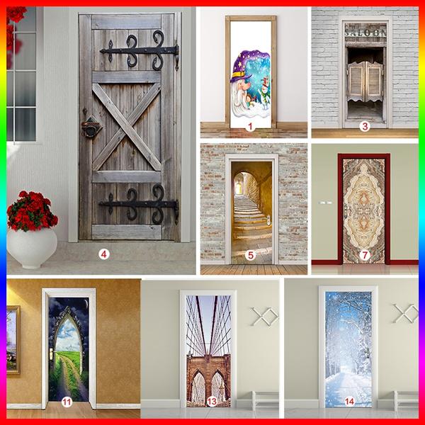 Home & Kitchen, Door, Home Decor, doorsticker