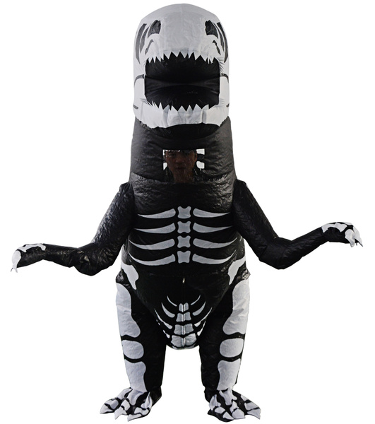 Wish | Adult Kids Giant Skeleton Inflatable Dinosaur Costume T-Rex Blow up Fancy Dress  sc 1 st  Wish & Wish | Adult Kids Giant Skeleton Inflatable Dinosaur Costume T-Rex ...