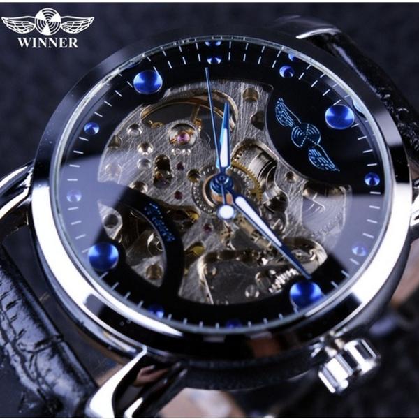 6ef348da8f9 1 x relógio vencedor genuíno - 1 x caixa de presente de papelão Forsining