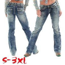 Slim Fit, Waist, retrojean, Women jeans