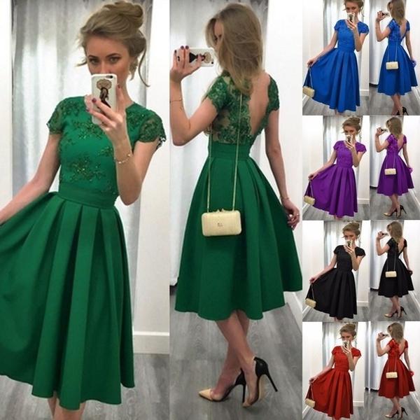 Vestido verde wish