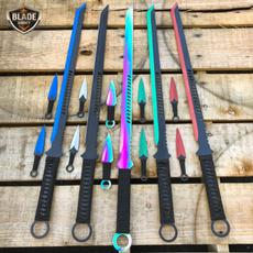 katanasword, sword, fixedblade, kunai