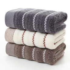 Cotton, Fiber, Towels, Stripes