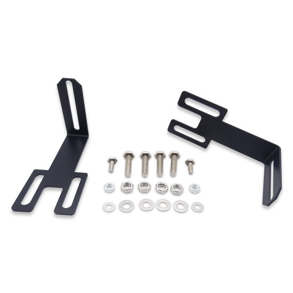 30 Inch Straight Led Light Bar Lower Hidden Bumper Mounting Brackets Fits 2003 2018 Dodge Ram 2500 3500