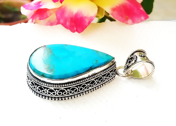 Sterling, gemstone jewelry, Turquoise, Fashion