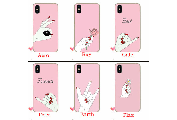 size 40 b98ee 0ad28 366TE best friend love you Hard Plastic Case for iphone 8 7 6 6s 8 Plus X  Xr XS Max10 5 5s SE 4 4s 5C Cases Cover