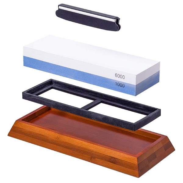 Whetstone Knife Sharpening Stone Waterstone Knife Sharpener 1000