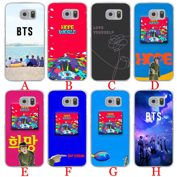 pretty nice 115c1 bc90c 119A ARMY Bangtan Boys BTS SUGA Hard Phone Cover Case for Samsung Galaxy S8  S9 S7 S6 Edge S8 Plus S9 Plus S3 S4 S5 S7 Edge Cases