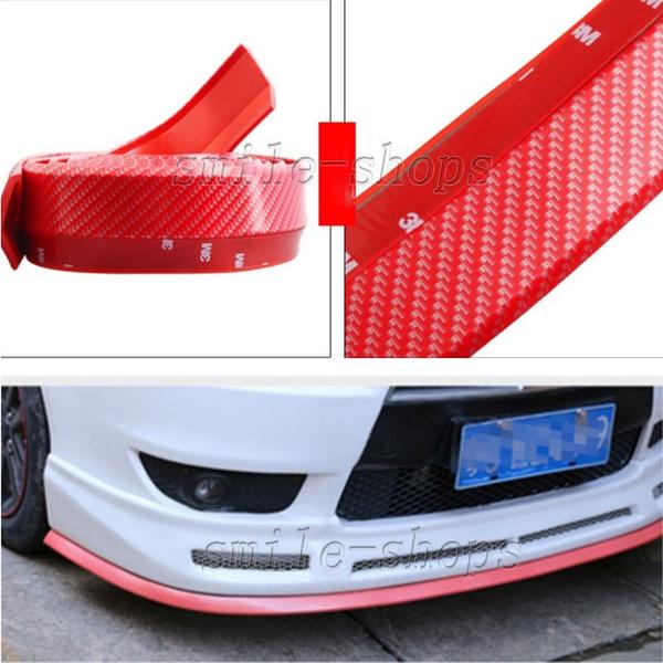 High Quality Car Carbon Fiber Front Bumper Lip Splitter Chin Spoiler Body Kit