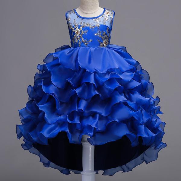 Vestido Infantil Menina Robe Fille Mariage Robe Ceremonie Fille Robe Princesse Fille Girls Dress Princess Dress Fashion Style