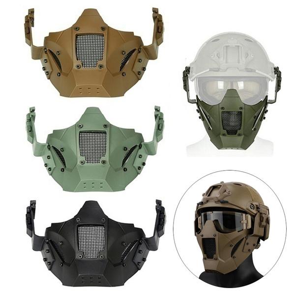 Airsoft Paintball, Helmet, combatmask, Outdoor
