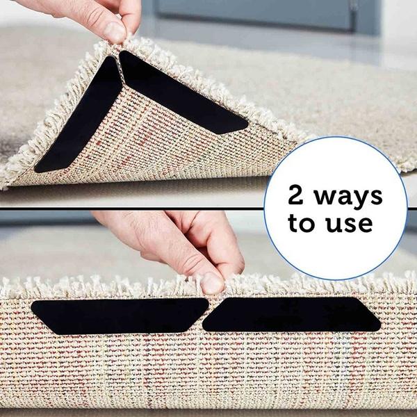 RUG TO CARPET ANTI SLIP MAT GRIPPER MULTI PURPOSE NON SLIP UNDERLAY FOR AL FLOOR