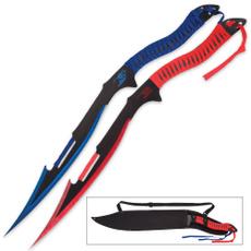 bk3648, Blues, sword, fixedbladeknife