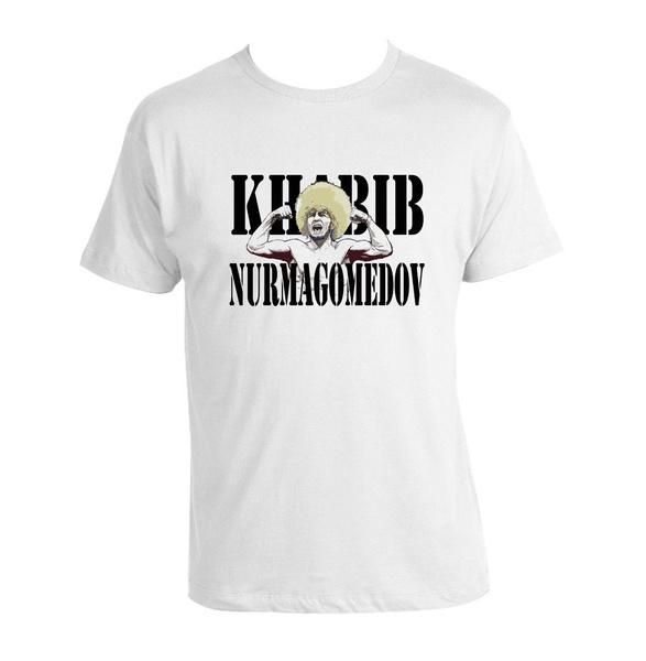 76730e61a Khabib Nurmagomedov T-shirt UFC MMA Wrestling Gym Graphic Tee Shirt ...