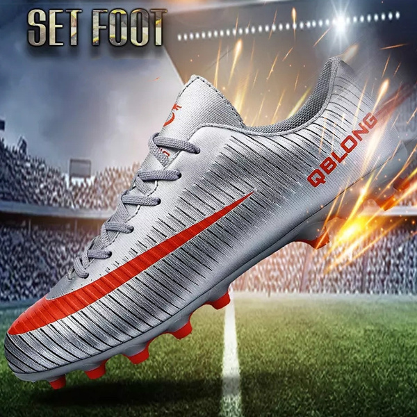 6f6376992f8e2 We will be shipped within 24 hours after receipt of order. Men Boys Soccer  Shoes Football Boots Waterproof Soccer Cleats Boot Shoes Sports Shoes  Outdoor ...