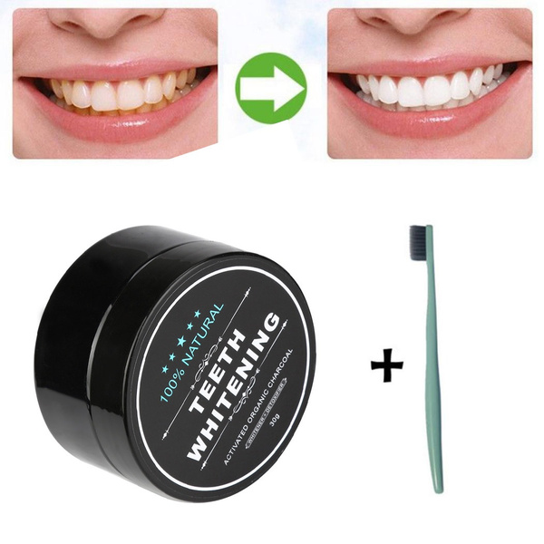 Yellow Teeth Nemesis Teeth Whitening Powder Natural Organic