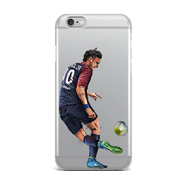 9edcc32a27d07 Neymar Paris Saint Germain Sport Soft TPU Phone Case Cover for IPhone 4 4S  5 5C 5S 6 6S 6Plus 6SPlus 7 7Plus 8 8Plus X SE for Samsung Galaxy S3 S4 S5  ...