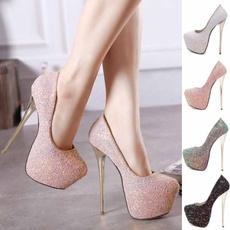 Bling, Womens Shoes, Spring, slim