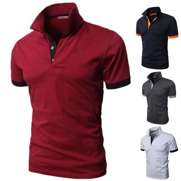 Plus Size, Polo Shirts, Sleeve, Shirt