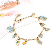 Charm Bracelet, aliceinwonderland, Fashion, Magic