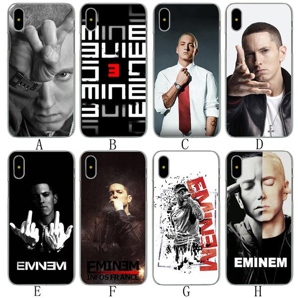 27e86c4e705 A73 Hip Hop Rapper Eminem rap Hard Phone Shell Case for Apple iPhone ...
