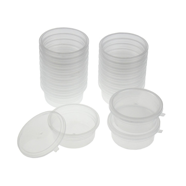 Wish 20 Pc Slime Storage Containers Foam Ball Storage Cups