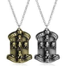 Men  Necklace, Jewelry, Chain, Vintage
