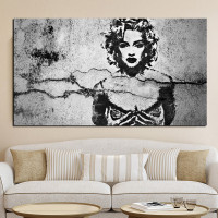 Madonna With Red Lips Poster Prints Wall Decoration Art Pictures