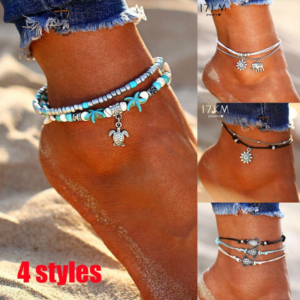 womenanlet, Turtle, Fashion, Anklets