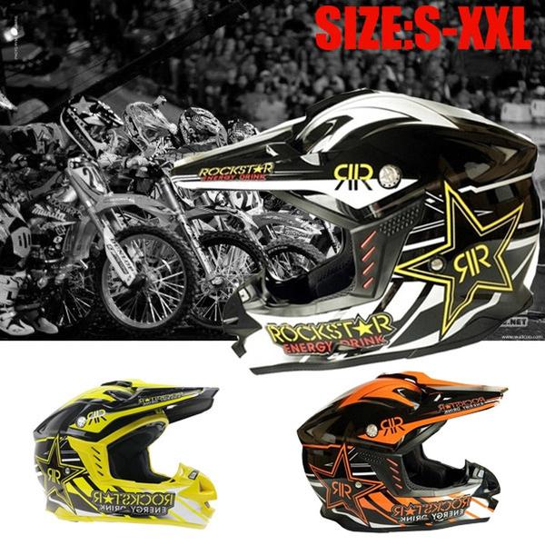 Rockstar Moto Mx Helmet Motocross Off Road Helmets Motorcycle Racing Atv Mx Helmets Gear Moto Casque Capacete Casco