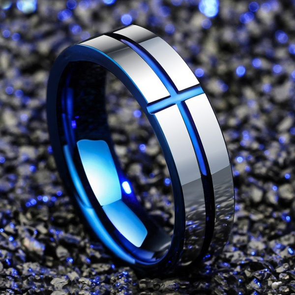 Blues, Steel, vintage ring, Jewelry