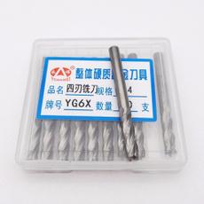 KLOT 10pcs Solid Carbide Fish Tail End Mill 0.6mm-3.175mm PCB Diamond Cut Bits