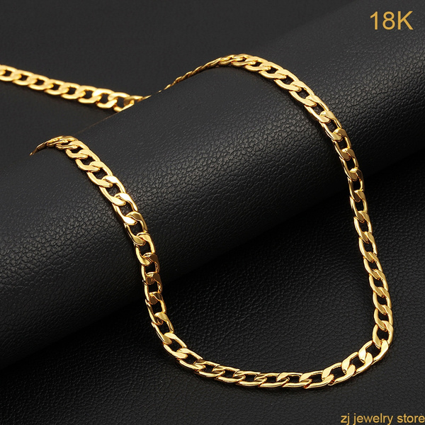 Chain Necklace, Fashion, Jewelry, gold