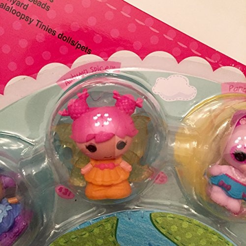 Lalaloopsy Tinies Series 4 10 Pack With Sunny Side Up Bluebell