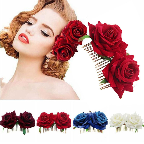 bridalhaircomb, Flowers, lover gifts, headwear